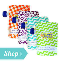 Yummi Pouch reusable food pouches by Revelae Kids for eco-friendly and healthy snacks
