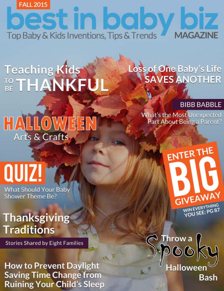 Green Scene Mom Fall Award Winners 2015 Winter Best in Baby and Kids Magazine