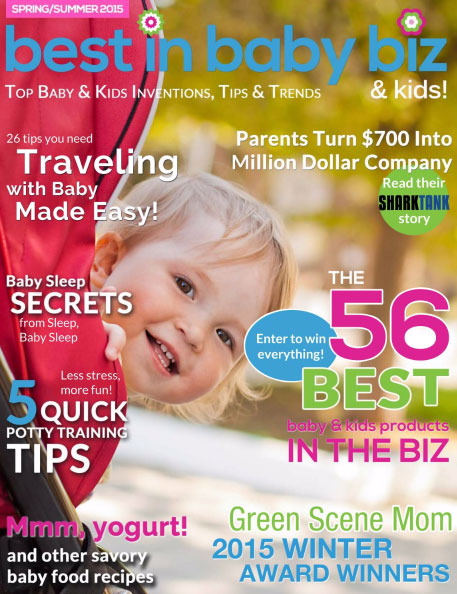 Green Scene Mom Spring Award Winners 2015 Winter Best in Baby and Kids Magazine