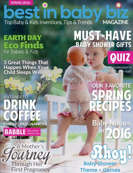 Green Scene Mom Winter Award Winners 2016 Spring Best in Baby and Kids Magazine
