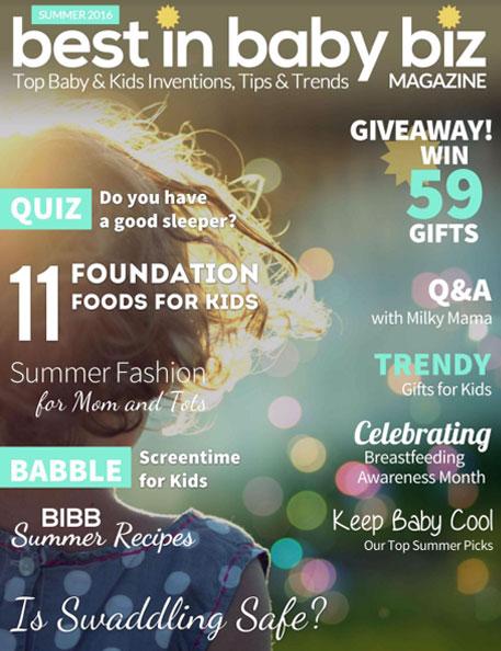 Green Scene Mom Summer Award Winners 2016 Winter Best in Baby and Kids Magazine