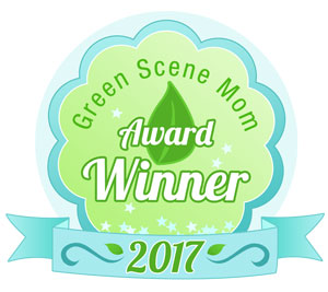 2017 green scene mom award winner badge