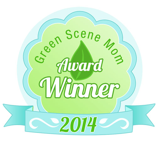 Green Scene Mom Award - preserve products