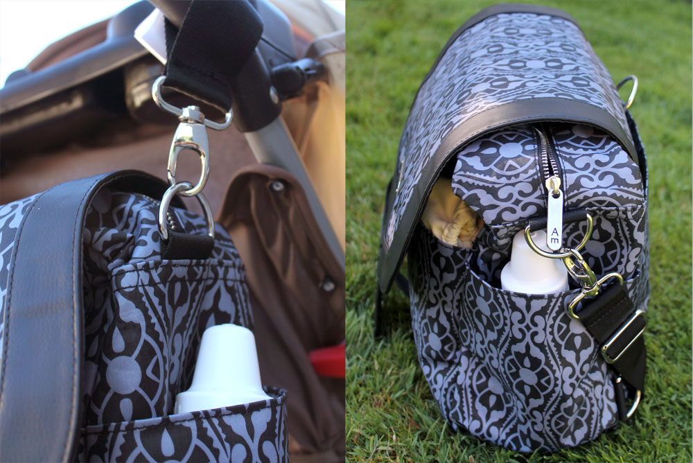 It's a Breeze Adelina diaper bag by Madelina review