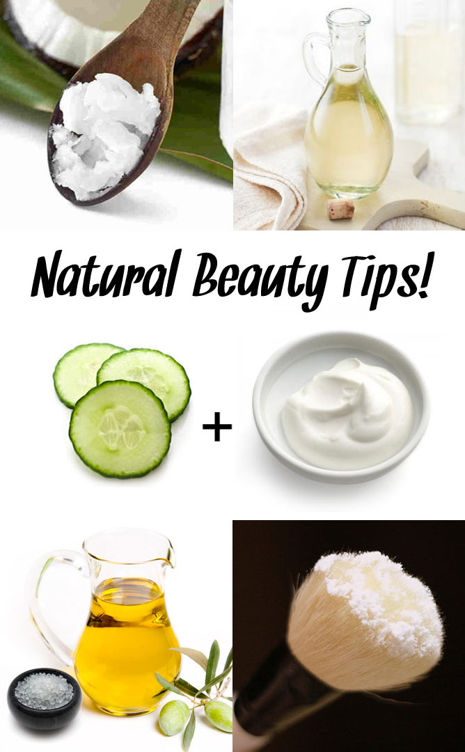 Easy Natural Beauty Tips - Mommy Scene