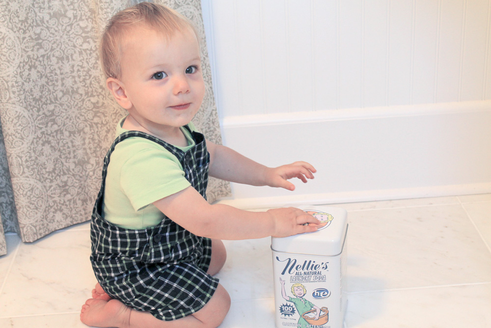 Nellie's All Natural laundry products