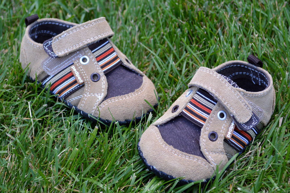Pediped toddler boys supportive shoes for kids
