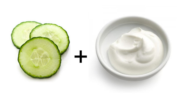 Cooling Cucumber and Yogurt Mask - Mommy Scene