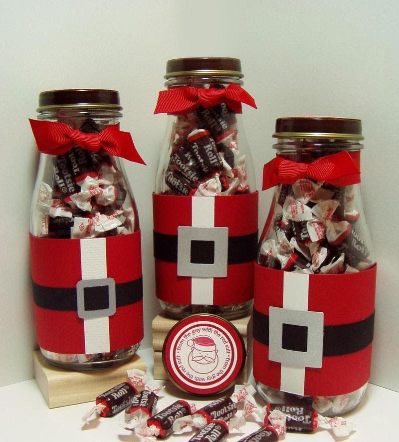 Cute Santa Frappuccino Bottles