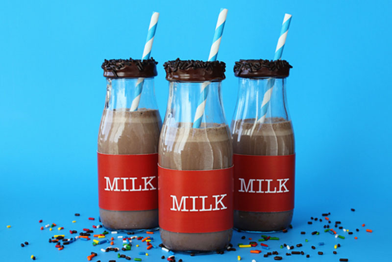 Cute Milk Frappuccino Bottles Gift Idea