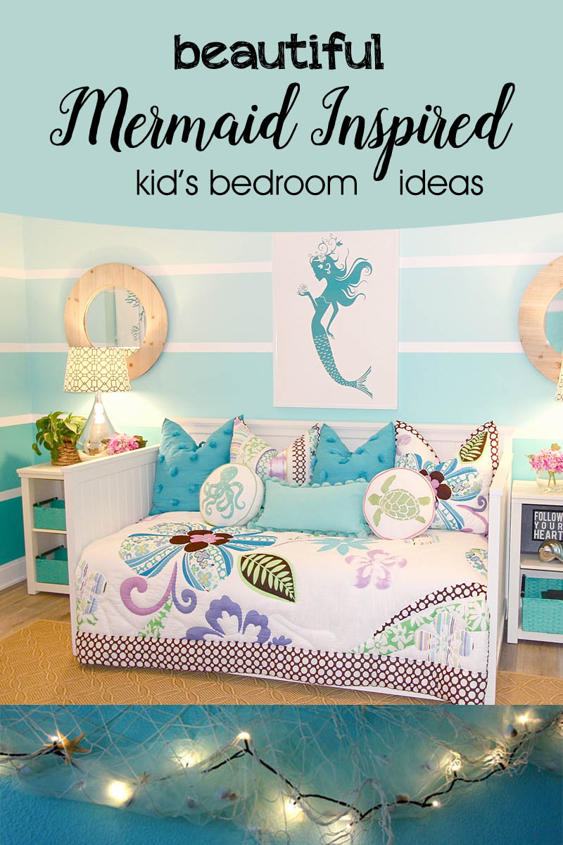 Mermaid Inspired Kids Bedroom Ideas