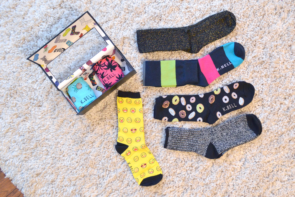 Colorful K.Bell Socks - Mommy Scene