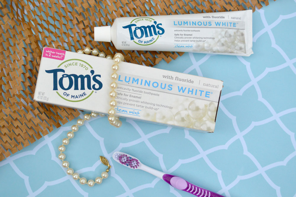 Whiten Your Teeth with Tom's of Maine Toothpaste - Mommy Scene Natural Hygiene Tips