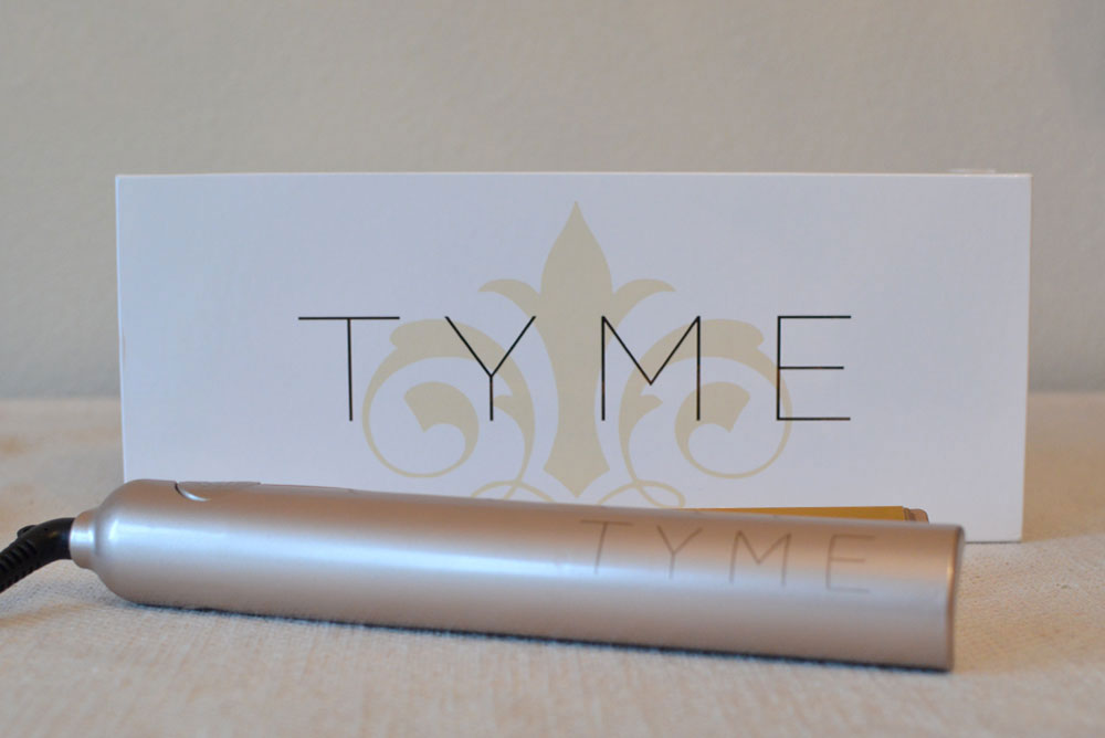Tyme Iron all in one curler and straightener hair care essential - Mommy Scene review