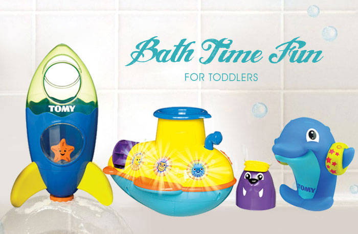 Interactive TOMY Bath Toys review - Mommy Scene