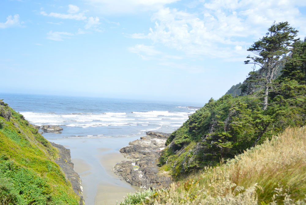 Oregon coast family hike with beautiful views - Mommy Scene