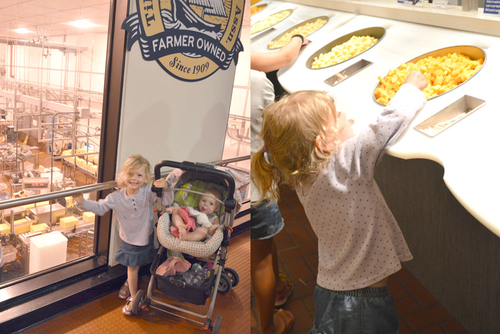 Oregon Family Vacation with Toddlers Tillamook Cheese Factory - Mommy Scene