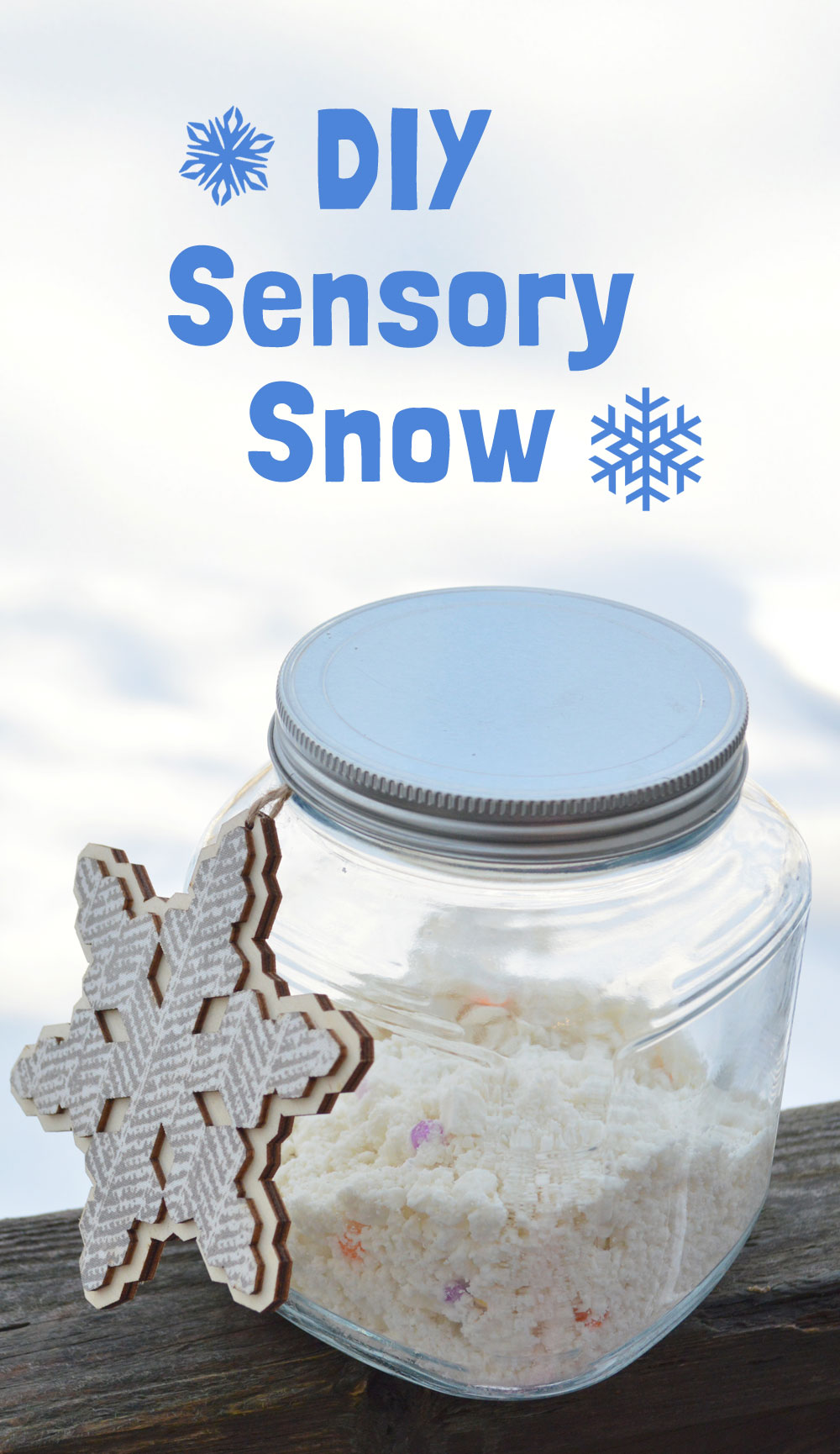 Fun sensory snow activity for kids - Mommy Scene