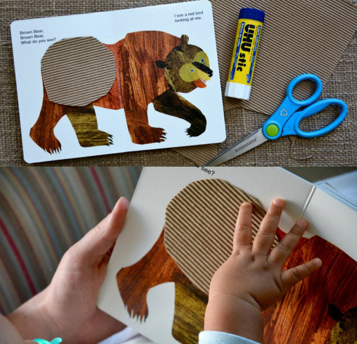 DIY baby sensory board books can help kids with sensory disorders