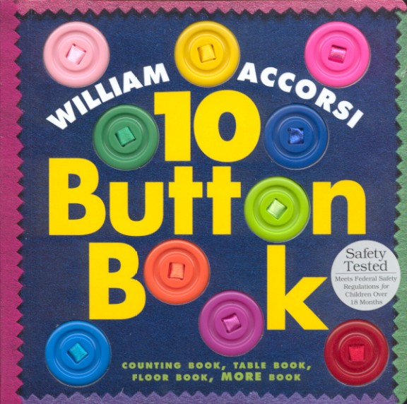 Baby sensory button book for toddlers - Mommy Scene