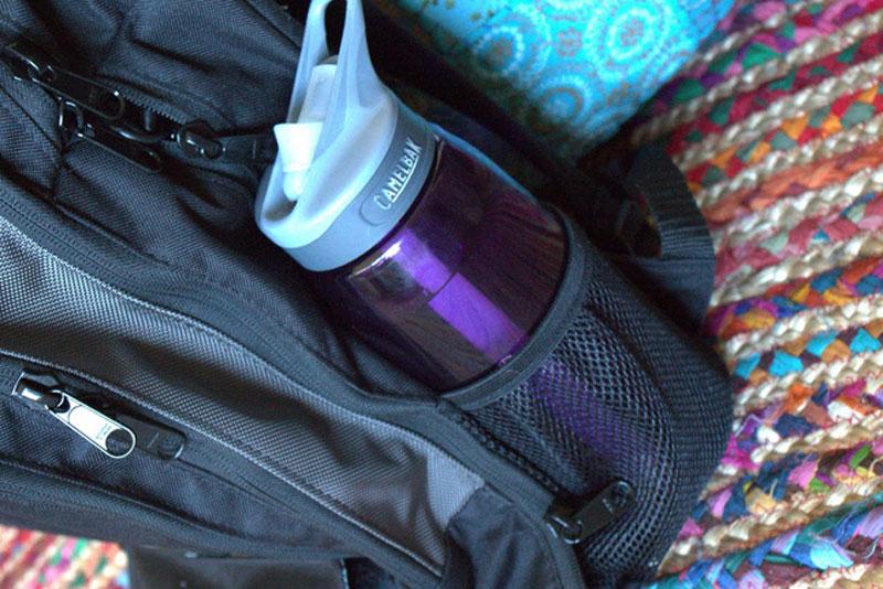 DadGear Backpack Diaper Bag with water bottle pocket - Mommy Scene