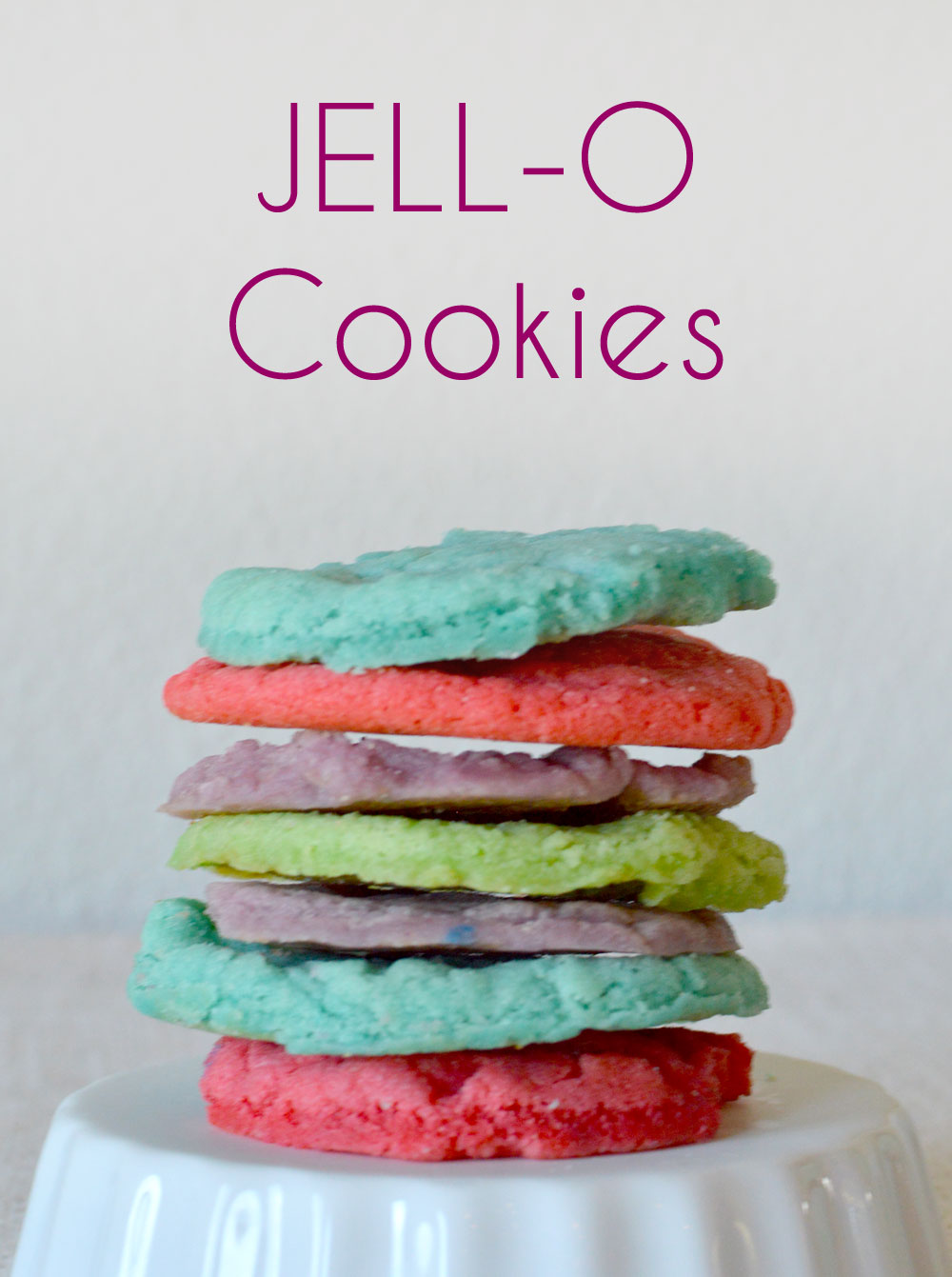 Easy DIY Jello Cookies - Mommy Scene