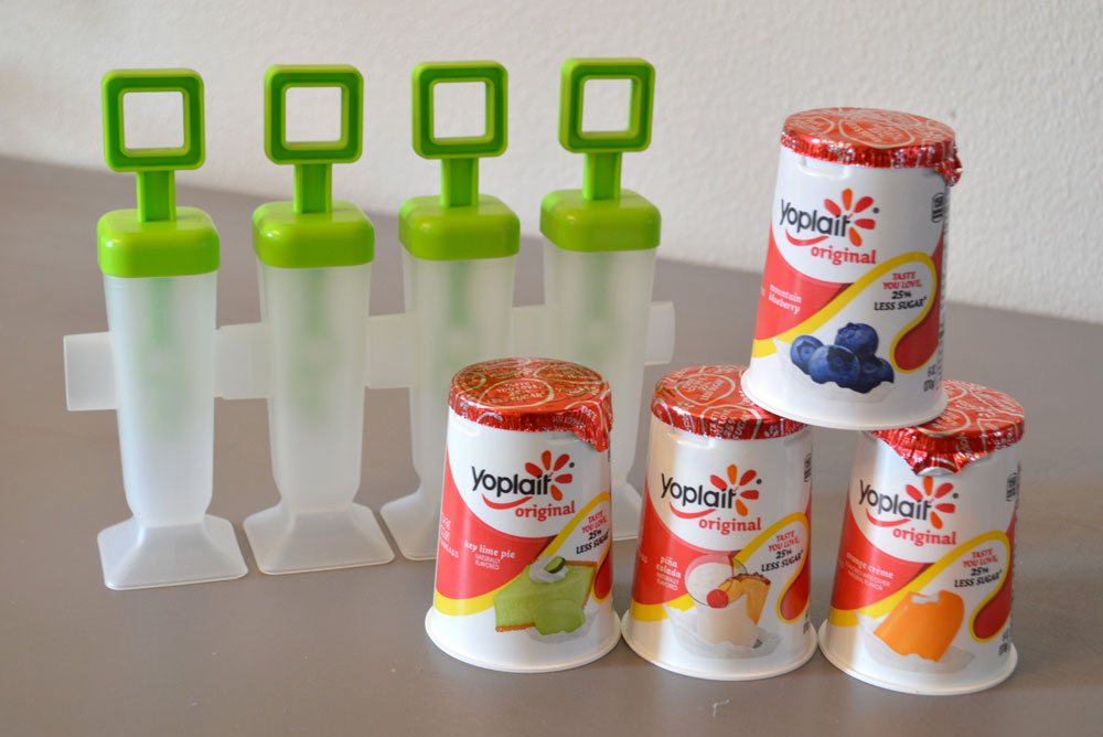 Yogurt Popsicles with different flavors - Mommy Scene