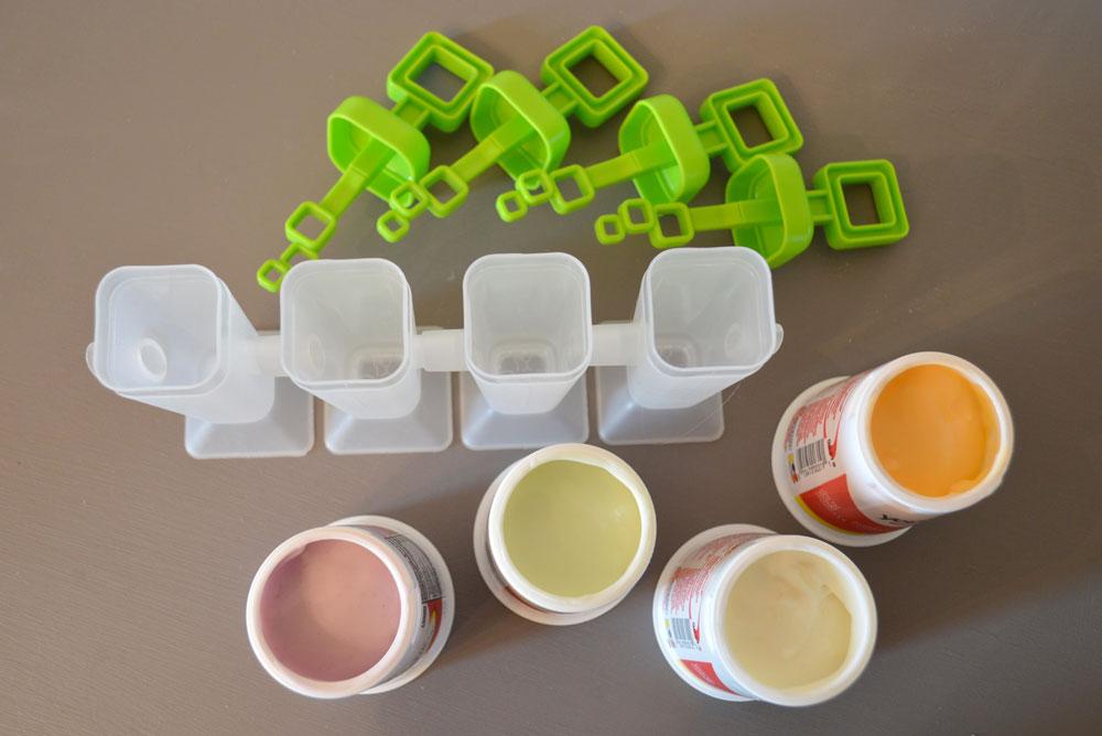 Healthy Yogurt Popsicles - Mommy Scene