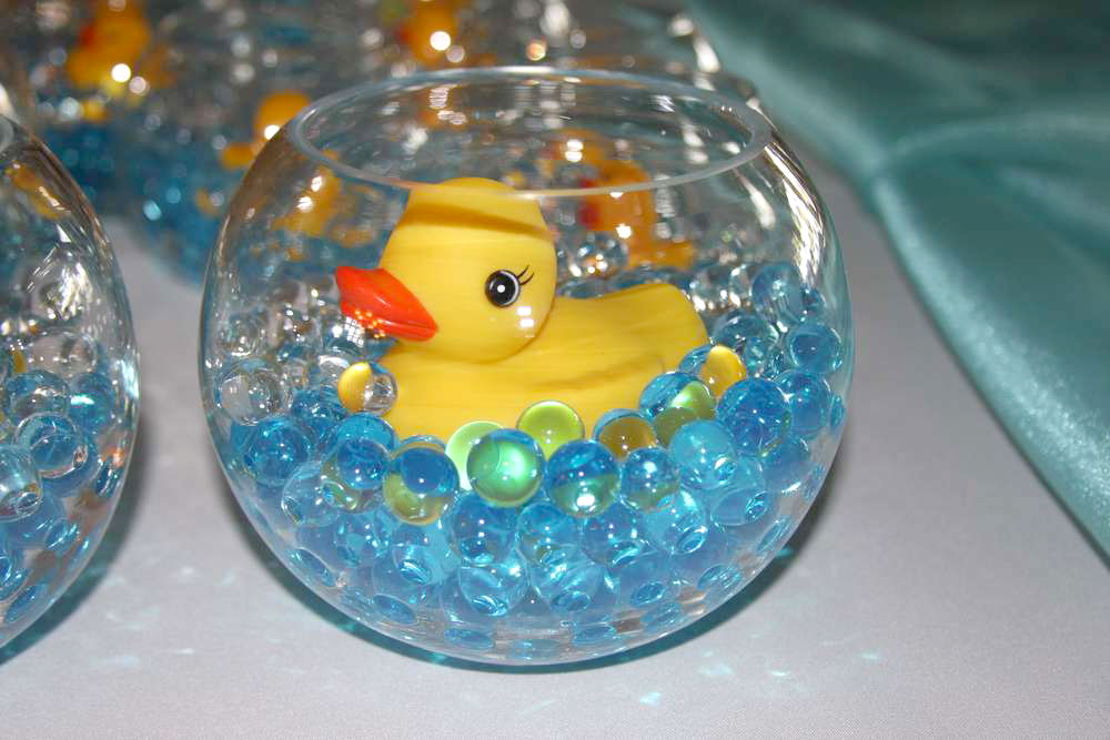 Water Beads Ducky Baby Shower Decoration - Mommy Scene