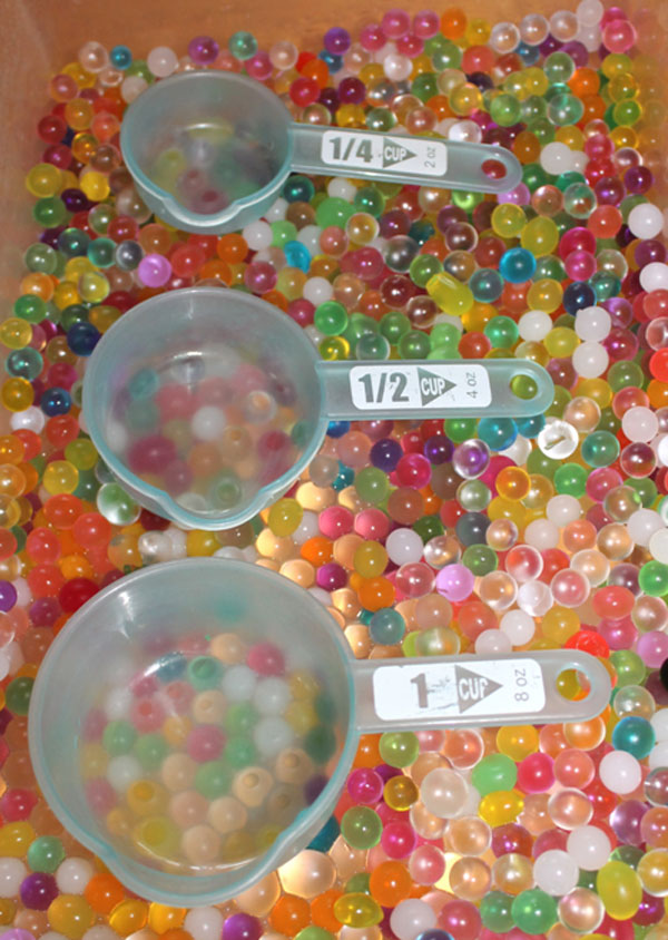 Fun Uses for Water Beads - Learning With Water Beads - How To Teach With Water Beads - Mommy Scene