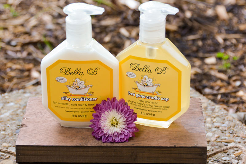 Bella B Bodycare Natural Cradle Cap Baby Shampoo and Conditioner - Mommy Scene Review