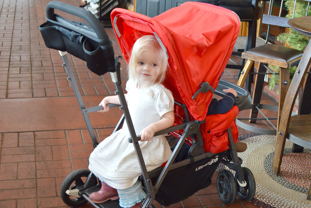 Joovy Ultralight Stroller for family travel