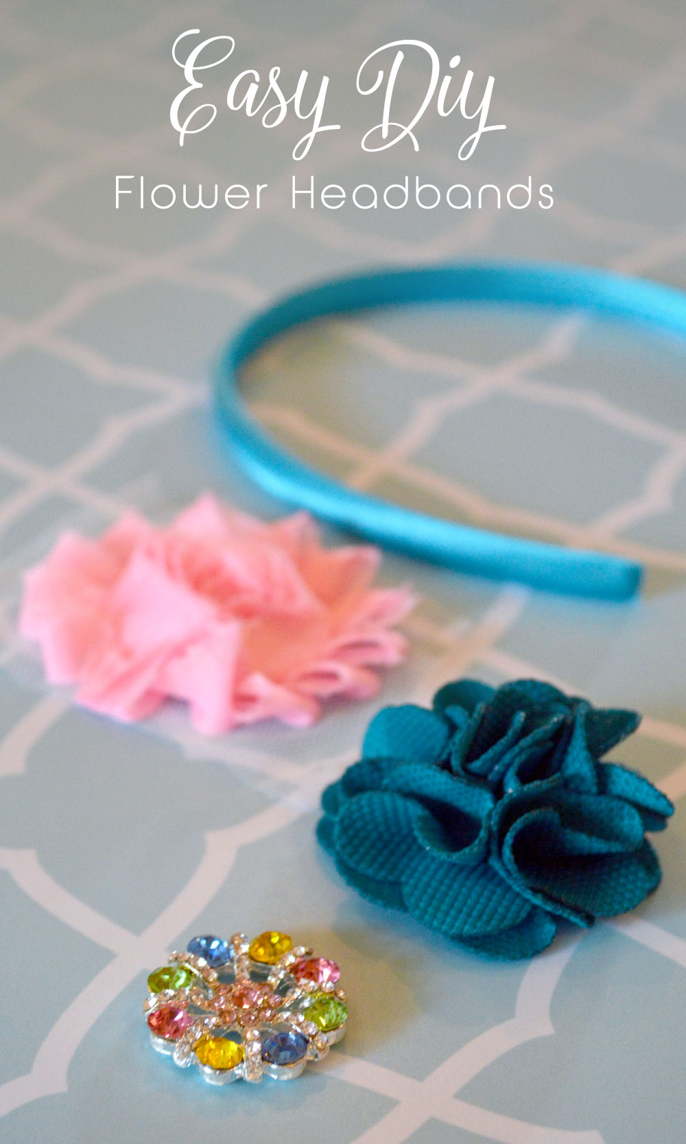 Easy DIY whimsical flower headbands - Mommy Scene