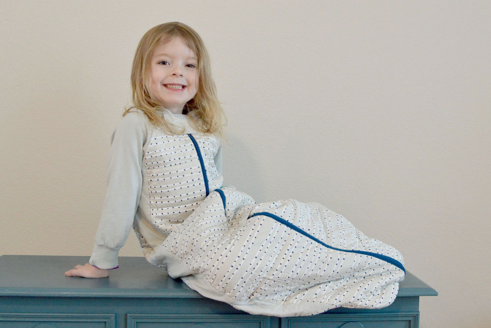 Ergo Pouch sleep suit for kids
