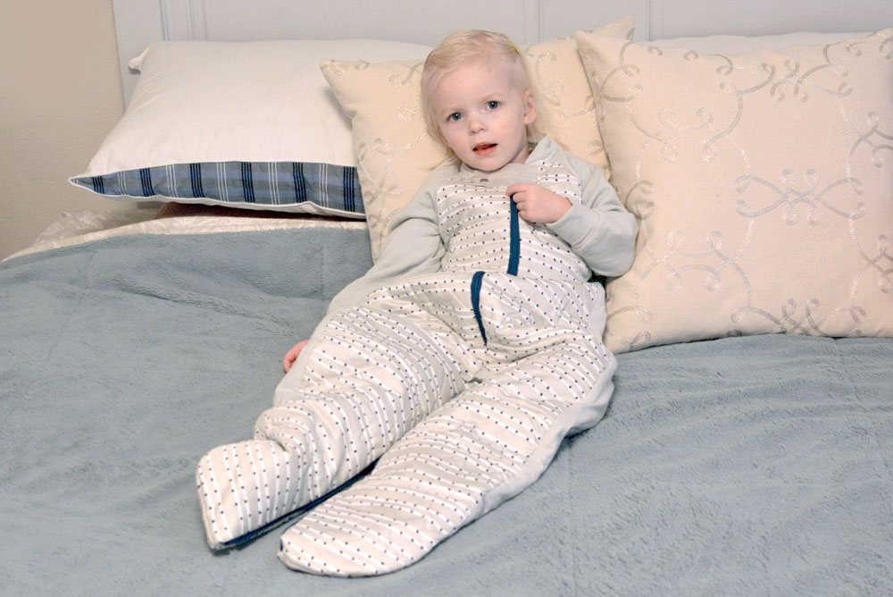Ergo Pouch sleep suit for toddlers