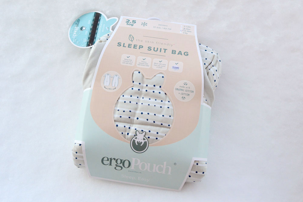 Ergo Pouch baby sleep sack for toddlers and babies