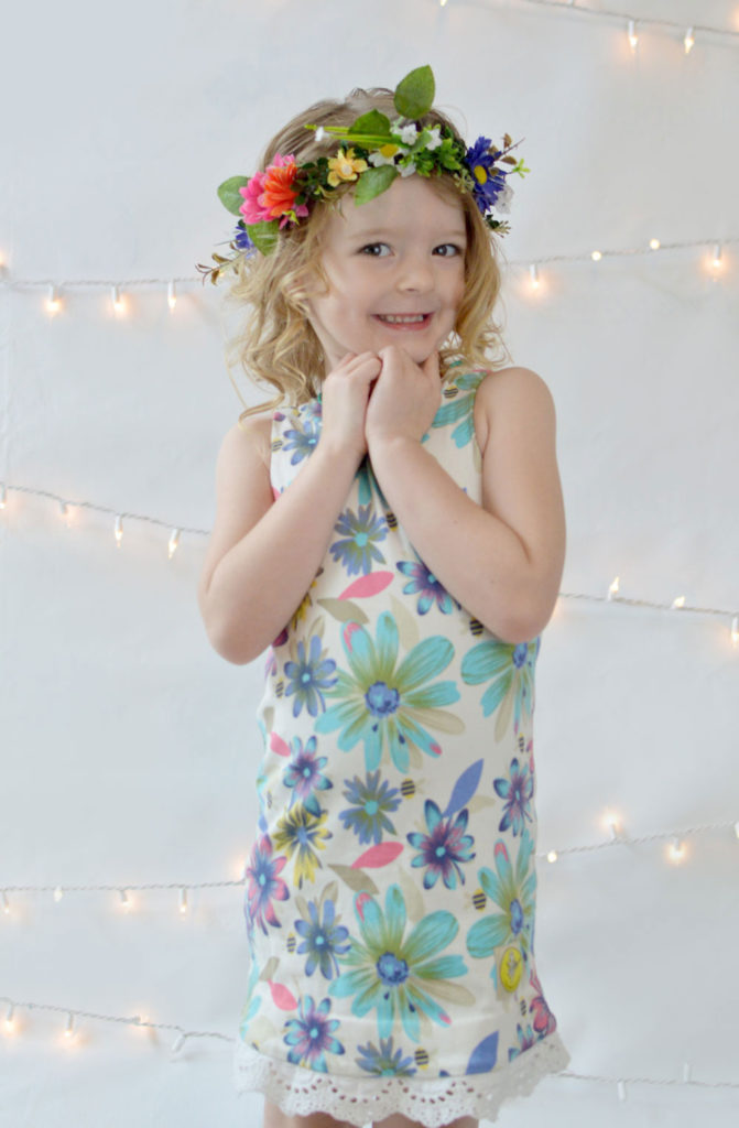 L'enfant D'or little girl flower dress - Mommy Scene