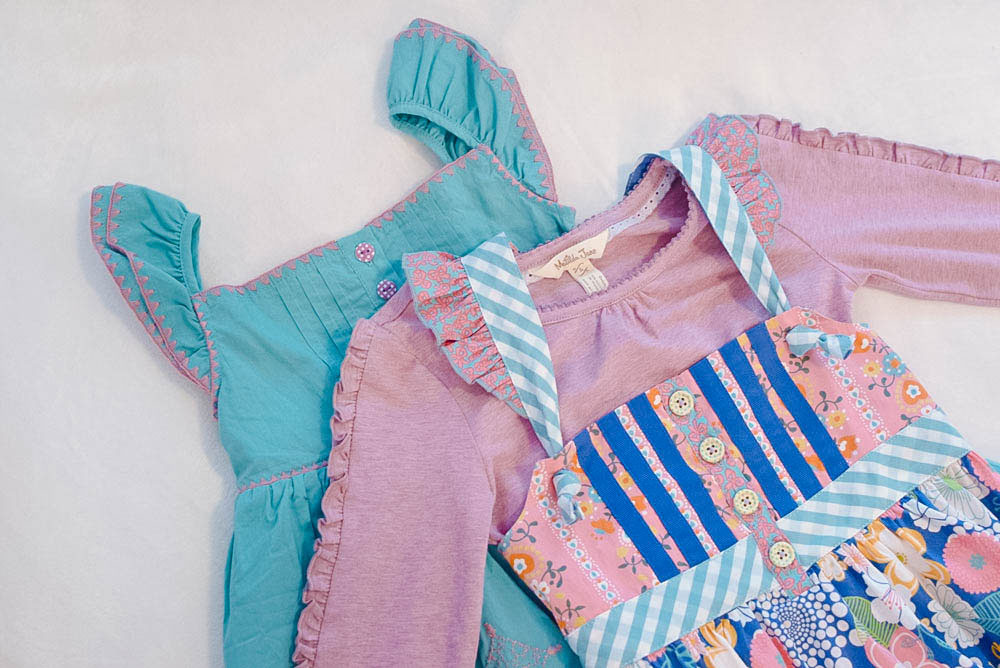 Matilda Jane Once Upon a Time mix and match dresses - Mommy Scene review