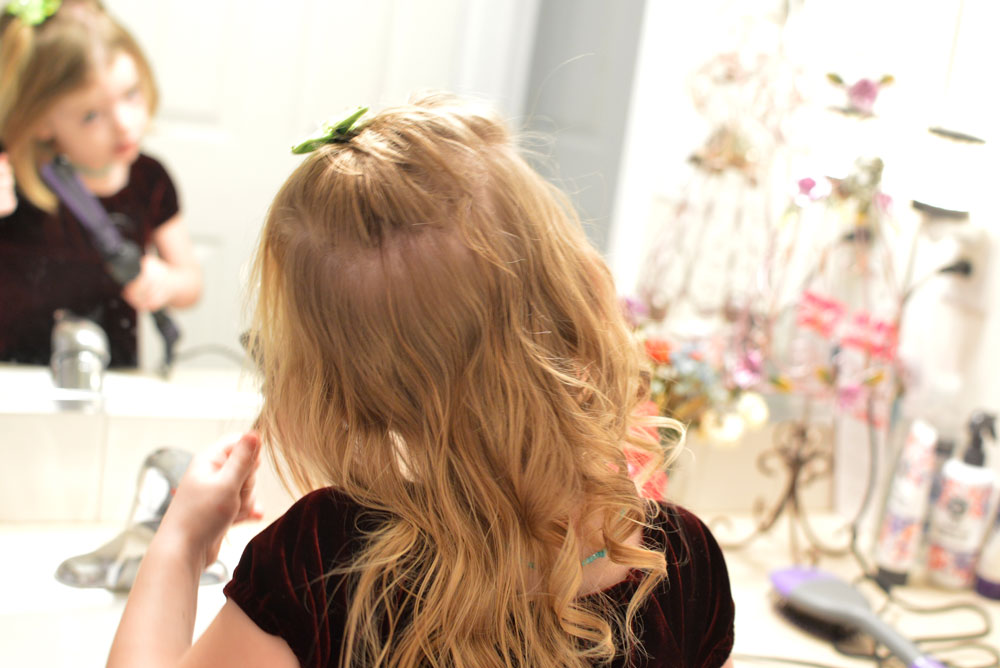 SoCozy Bounce curl hair products for little girls - Mommy Scene review