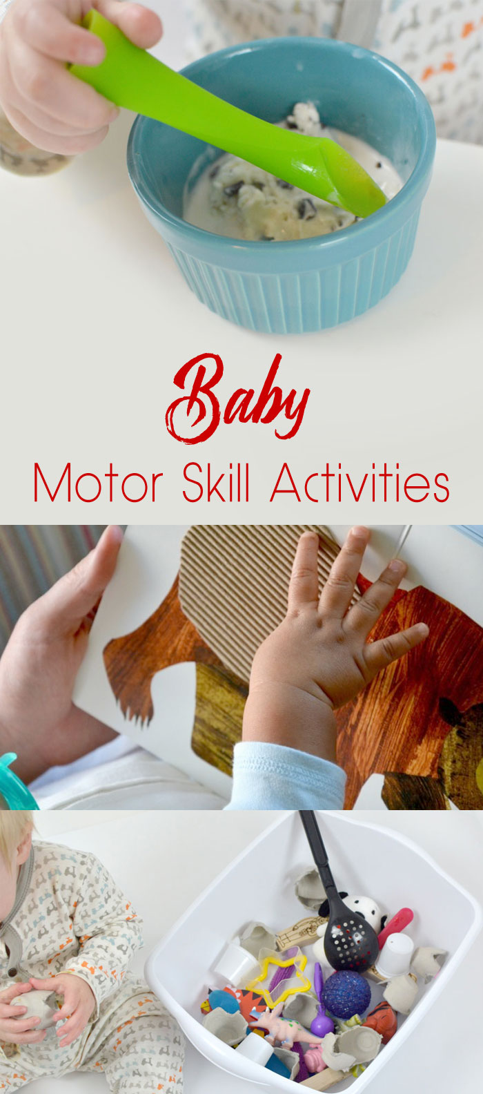 Baby Motor Skill Activities - Mommy Scene