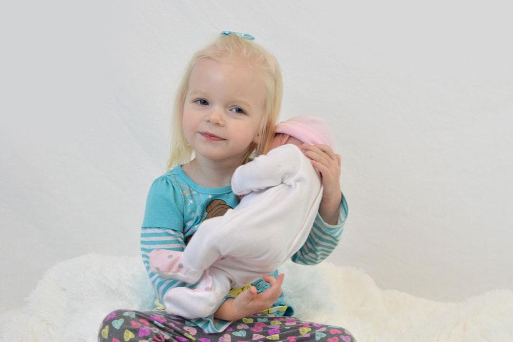 La Newborn first realistic baby doll for little girls - Mommy Scene