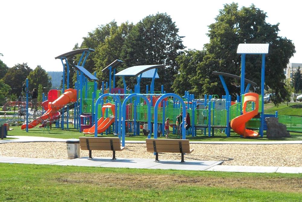 Coeur d'Alene parks for kids McEuen