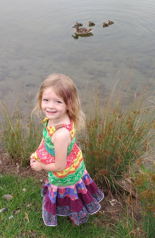 Coeur d'Alene parks for kids Riverstone duck pond
