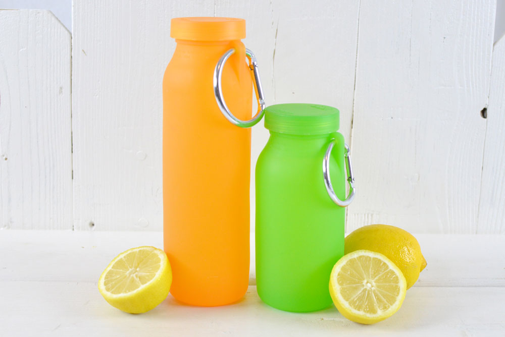Bubi silicone water bottle