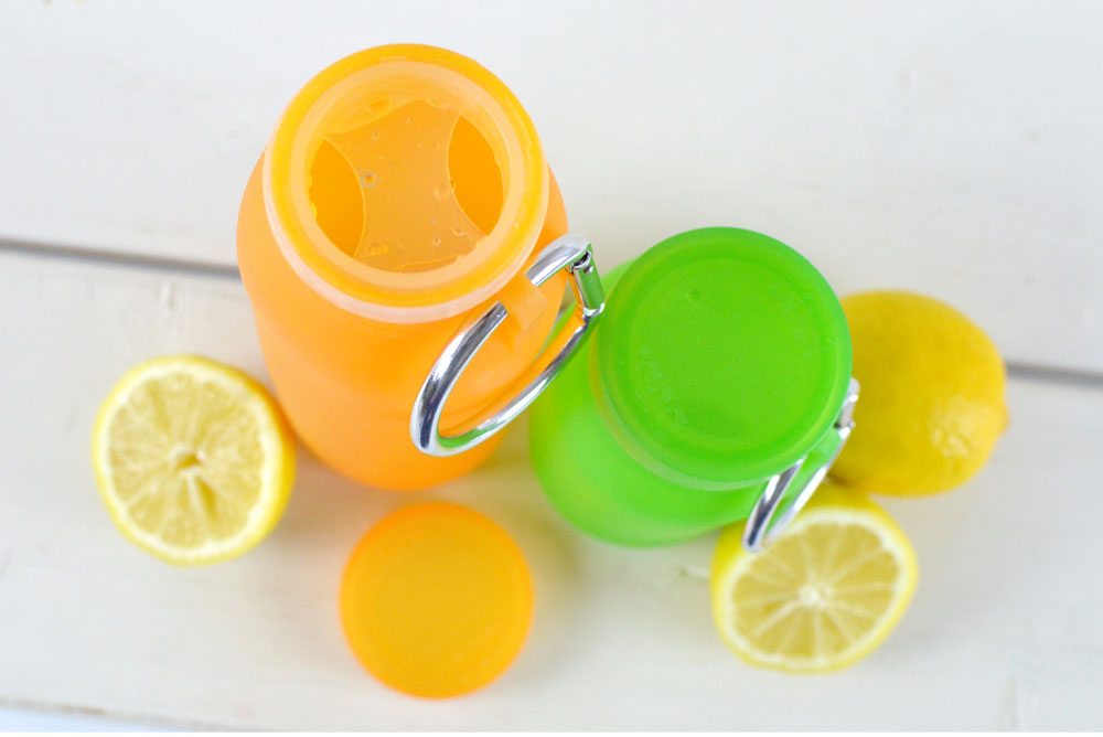 Compact Bubi silicone water bottle