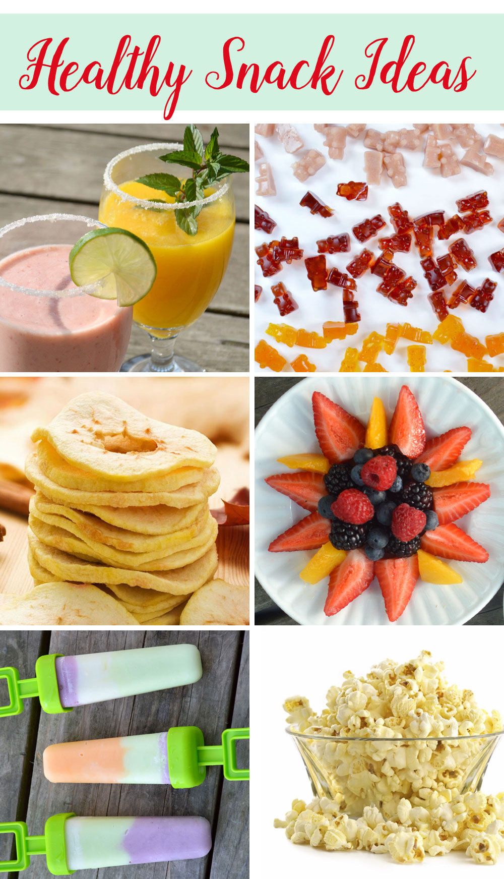 Healthy Snack Ideas for kids - Mommy Scene
