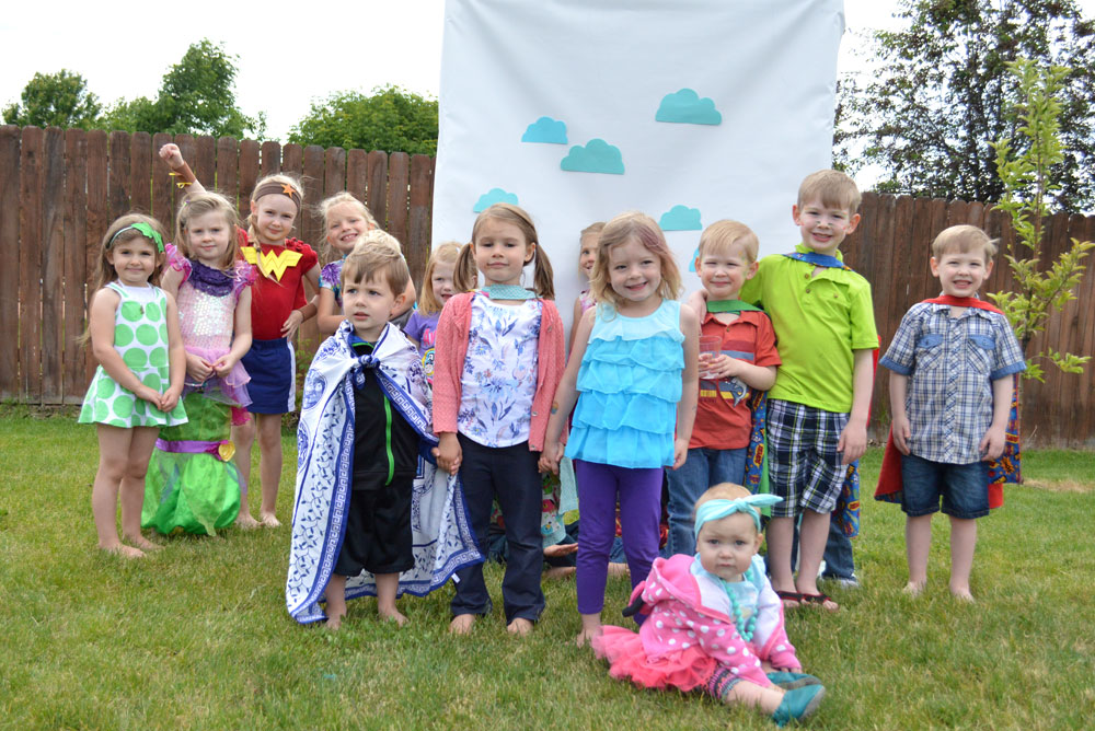 Cute Mermaid Superhero kids' preschool birthday party ideas - Mommy Scene