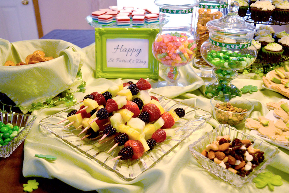 Kid's St. Patrick's Day Shamrock Party ideas and kids' snacks - Mommy Scene