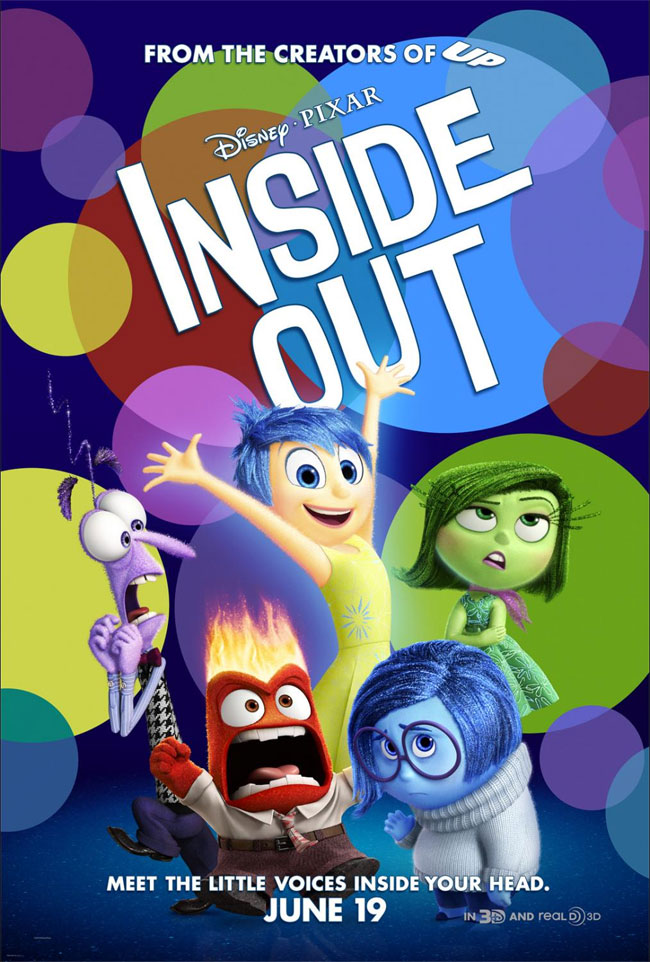 Disney's Inside Out movie poster - Mommy Scene