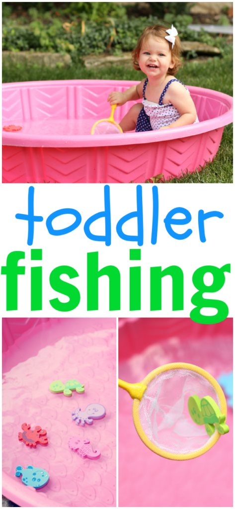 7 water Play Activities For Toddlers - Mommy Scene - Kiddie Pool Fishing